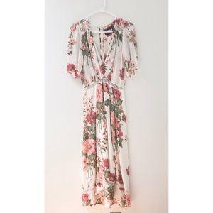 Reformation Floral Midi Dress